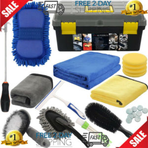 25pcs car cleaning kit the ultimate car wash for detailing interiors exter 25Pcs Car Cleaning Kit | The Ultimate Car Wash for Detailing Interiors & Exter
