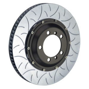 brembo 380x30 2 piece slotted rotors type 3 rear Brembo 380x30 2-Piece Slotted Rotors Type-3 Rear