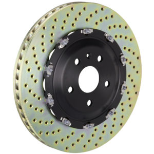 brembo 405x34 2 piece drilled front rotors Brembo 405x34 2-Piece Drilled Front Rotors