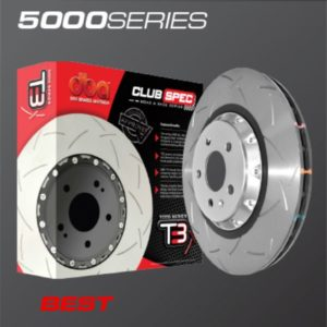 dba t3 slotted 5000 series brembo only replacement rotor nissan gt r rear 2009 DBA T3 Slotted 5000 Series Brembo Only Replacement Rotor Nissan GT-R Rear 2009+