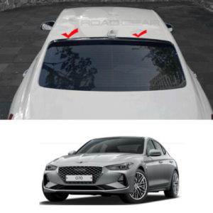 rear roof glass wing spoiler black aero parts for hyundai genesis g70 2018 Rear Roof Glass wing Spoiler Black Aero Parts For Hyundai Genesis G70 2018+