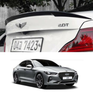 rear trunk spoiler painted aero parts for hyundai genesis g70 2018 2020 Rear Trunk Spoiler Painted Aero Parts For Hyundai Genesis G70 2018~2020+